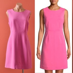 Diane von Furstenberg Carrie Pink Sheath Dress 10